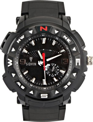 SIDVIN AT6042BKB Youth Series Analog Watch  - For Boys, Men