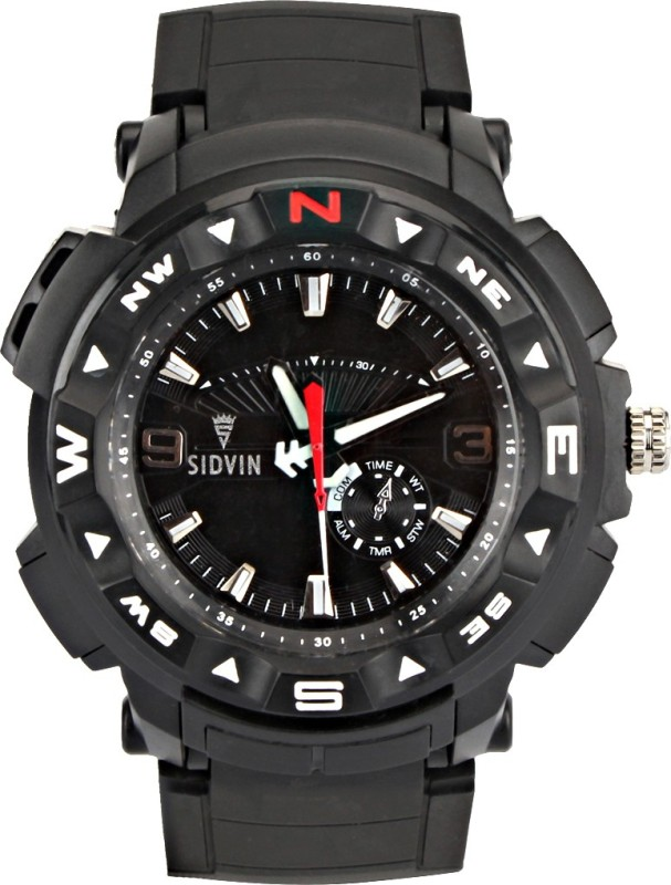 SIDVIN AT6042BKB Youth Series Analog Watch For Men