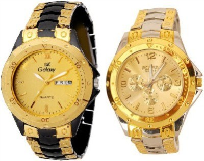 SK Galaxy Rosra RosraCombo Analog Watch  - For Men