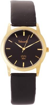 Telesonic 19RGBCM-102 BLACK Shubham Series Analog Watch  - For Men