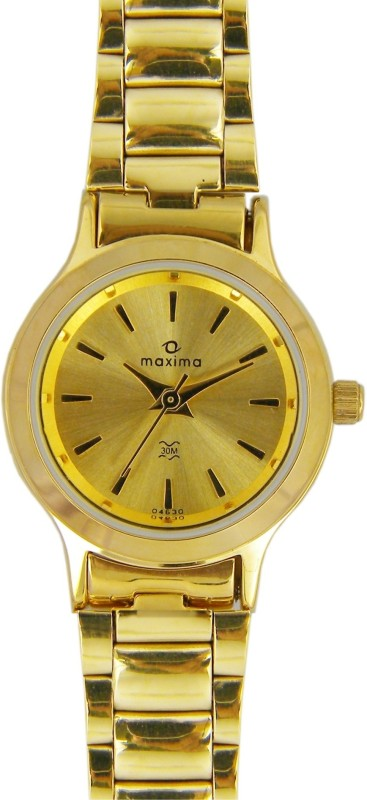 Maxima 04630CMLY Analog Watch For Women