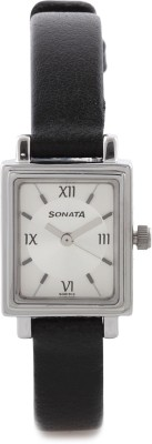 Sonata NF8080SL01C Analog Watch  - For Women
