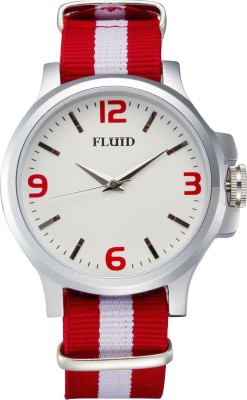 Fluid FL-129-WH01 Analog Watch  - For Men