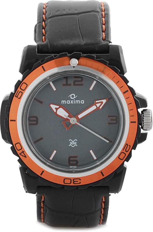 Maxima 29722LPGW Hybrid Analog Watch For Men