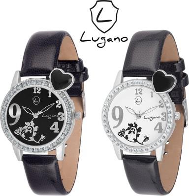 Lugano DE2032LG Analog Watch  - For Women, Girls