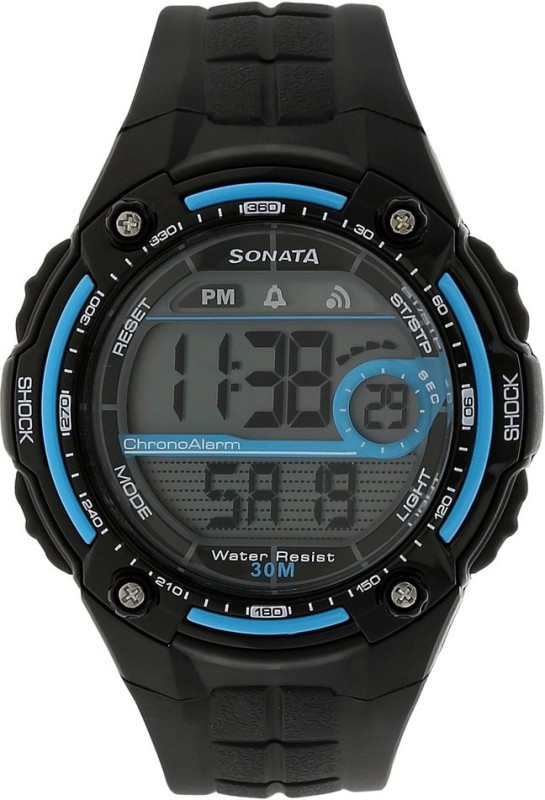 Sonata NH7949PP05J Digital Watch For Men