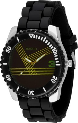 Marco MR-GR065-BLK-BLK SPORTS Marco Analog Watch  - For Men