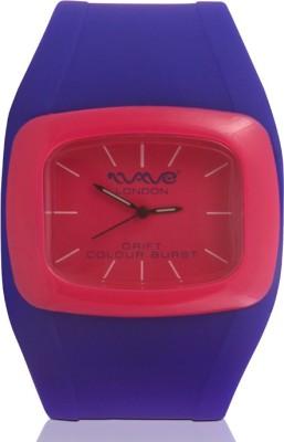 Wave London Wave London Drift Colour Burst Blue & Pink Watch (Wl-Cb-Bpk) Drift Colour Burst Analog Watch  - For Women