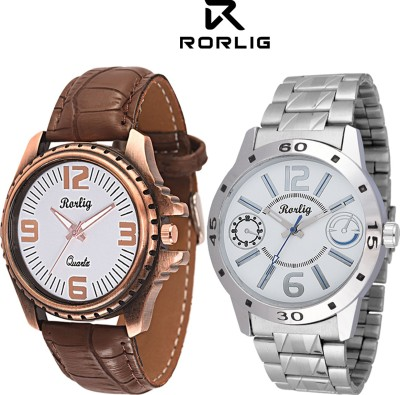 Rorlig RR_6025 Combo Analog Watch - For Men, Boys