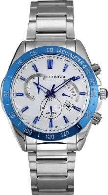 Longbo HLBLK216541 Saffron Analog Watch  - For Men