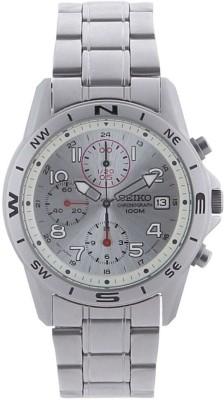 Seiko SE4568 Seiko Men's Stainless Steel Chronograph Watch Analog Watch  - For Men