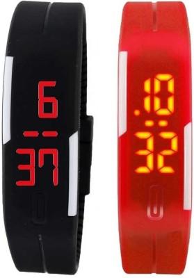 Codice Combo of Smart LED Digi-Codice Digital Watch  - For Men, Women, Girls, Boys