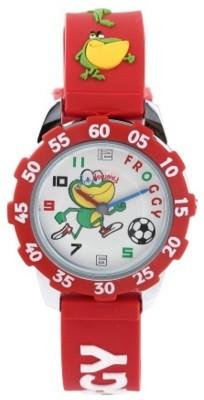 Fantasy World Super Hero Froggy Analog Watch  - For Girls, Boys