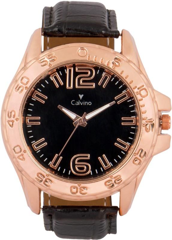 Calvino CGANS 1511481 RGBlackBlack Analog Watch For Men