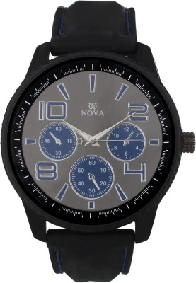 Nova Blue 01 Analog Watch  - For Men, Boys