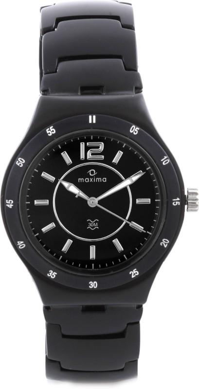 Maxima 23792CMGB Aluminium Analog Watch For Men