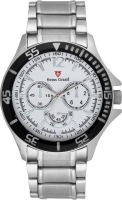 Swiss Grand Sg-0810_white Grand Analog Watch  - For Men