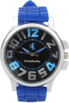 Swiss Karley SK10001B SW002 Analog Watch  - For Men