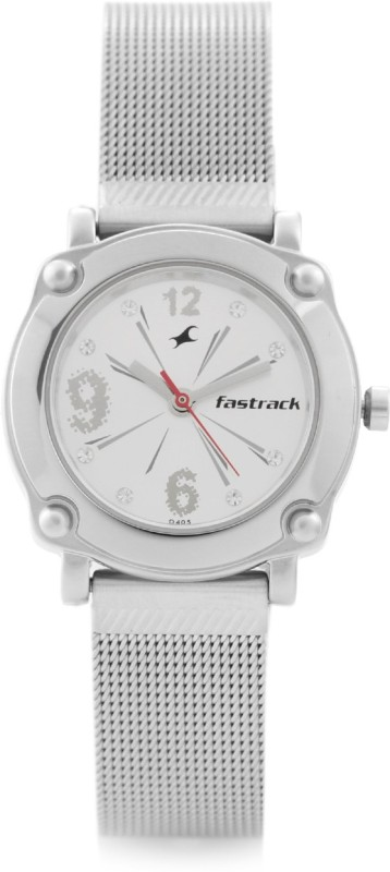 Fastrack NG6027SM01C Hip Hop Analog Watch For Women