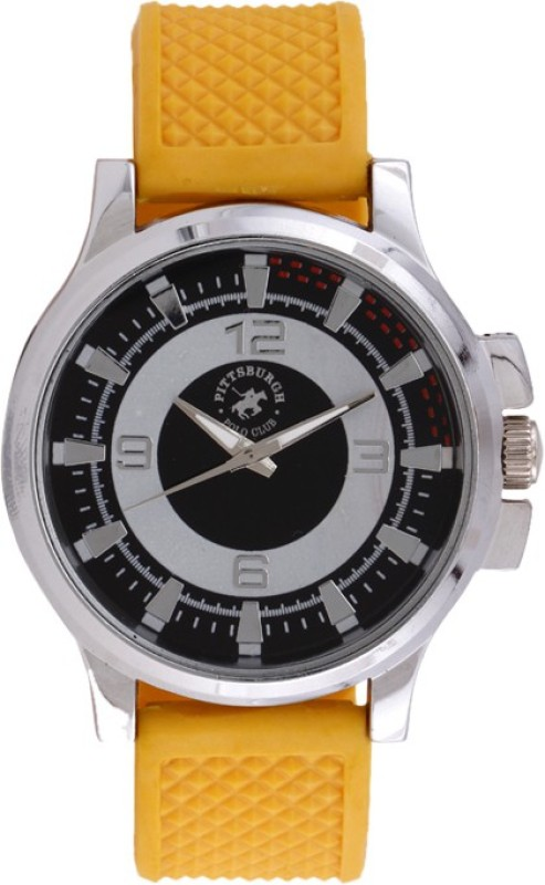 Pittsburgh Polo Club PBPC 428193 Analog Watch For Men