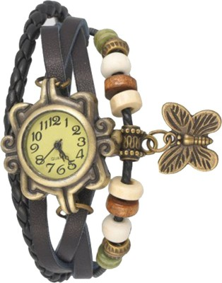 Mobspy VB-313 Vintage Butterfly Analog Watch  - For Girls, Women