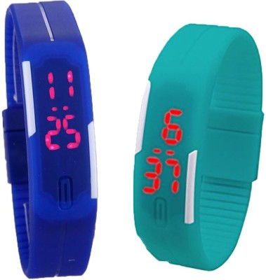 MIFY MFY25_BLU_CYN Digital Watch  - For Boys, Couple, Girls, Men, Women
