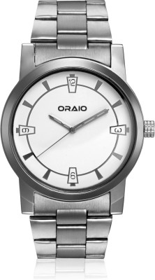 Oraio OR1504 Steel Analog Watch  - For Men