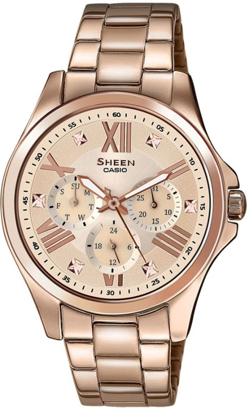 Casio SX149 Sheen Analog Watch For Women