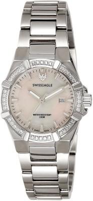 Swiss Eagle SE-6041-33 Analog Watch  - For Women