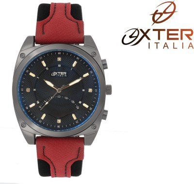 Oxter Elegant Affichage Black Cavlling Exotic Analog Watch  - For Men, Boys