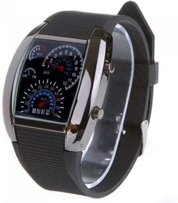 Frenzy Speedo Meter_Black_LED Digital Watch  - For Men, Women, Boys, Girls