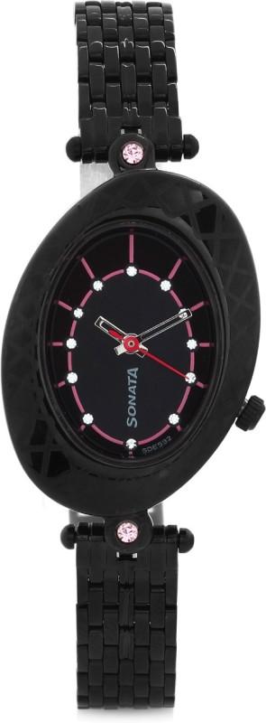 Sonata 8125NM01C Analog Watch For Women