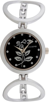 Invaders 67520-SCBLK Leaves Analog Watch  - For Women