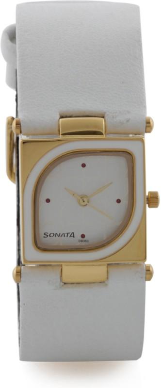 Sonata ND8919YL02 Yuva Gold Analog Watch For Women