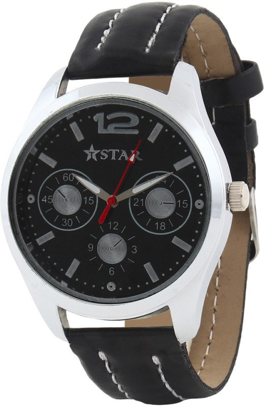 T STAR UFT TSW 001 BK BK Analog Watch For Men