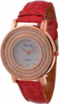 RBS Online Trading Company ReD MovingCrystal Analog Watch  - For Women, Girls