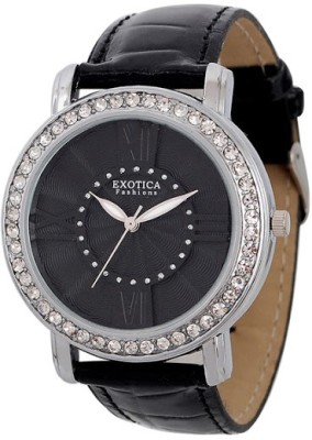 Exotica Fashions Ef-70-I-Black-Dm Dm Series Women's Analog Watch image
