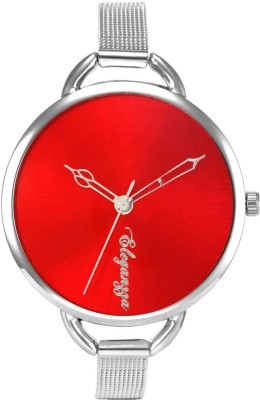 Eleganzza Vibrant Red Fashion Casual Analog Watch  - For Women, Girls