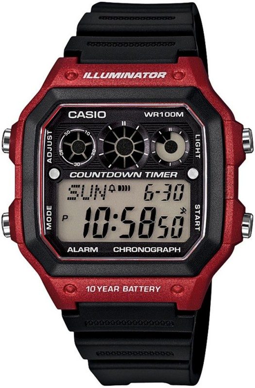 Casio D108 Youth Series Digital Watch For Men