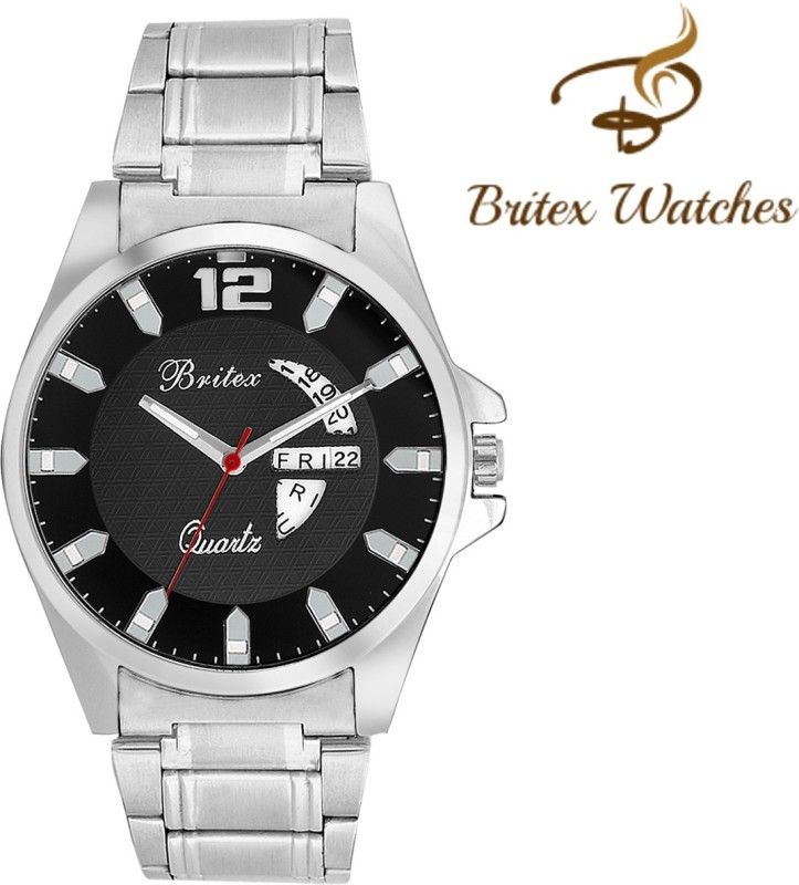 Britex BT6047 Bel Homme~ Day and Date Analog Watch For Men