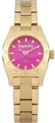 Superdry SYL158PGM Analog Watch  - For Women