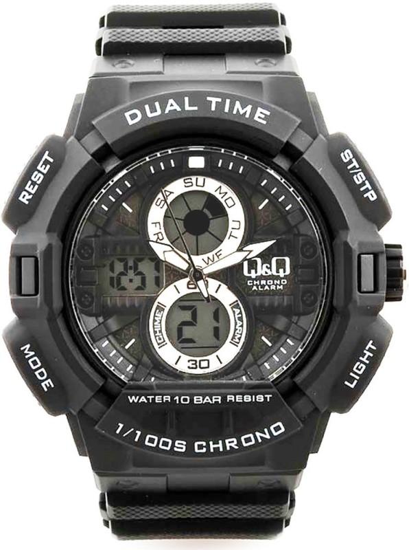 QQ GW81N001Y 1100S CHRONO Analog Digital Watch For Men
