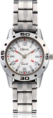 Oleva OSW-7 WHITE-1 Analog Watch  - For Women