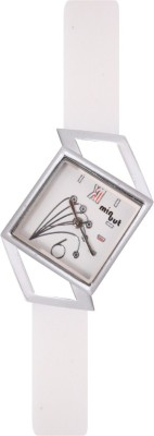 Minuut MNT-037-L-WHT Analog Watch  - For Women