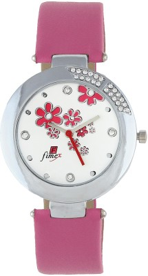 Fimex FX-020 Embellished Analog Watch  - For Women