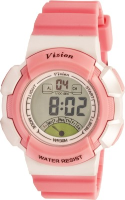 Vizion 8540061-3PINK Sports Series Digital Watch  - For Boys, Girls