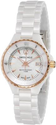 Swiss Eagle SE-6066-44 Analog Watch  - For Women