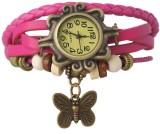 Felizo Vintage Pink Analog Watch  - For ...