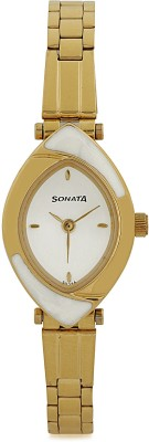Sonata NG8069YM03 Analog Watch - For Women