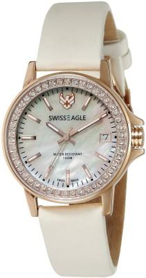 Swiss Eagle SE-6064-03 Analog Watch  - For Women
